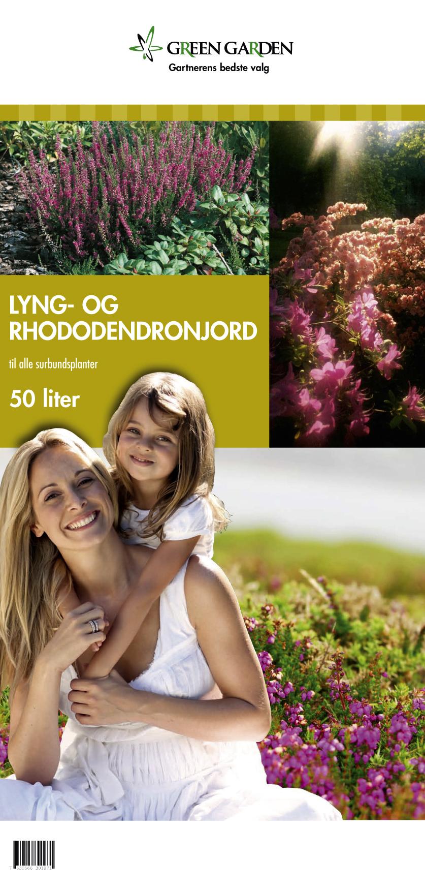 Lyng og rhododendronjord